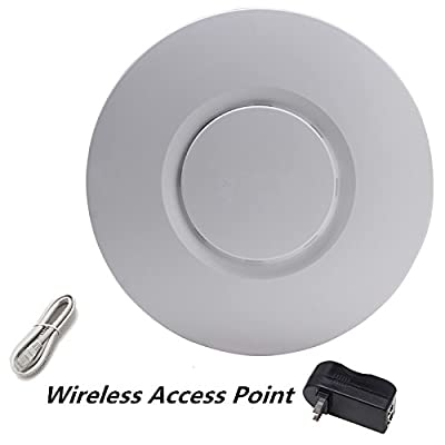 300Mbps Wireless Ceiling Access Point Router with 200meters indoor long range wifi Repeater Antenna for hotel/Home wifi