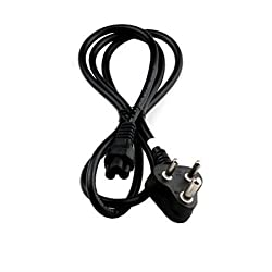 Technotech 1.5 Meter Power Cable Cord 3 Pin Laptop Adapter Charger 1.5m - Black