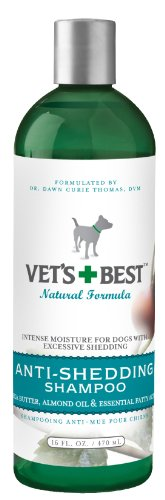 Vet's Best Anti-Shedding Dog Shampoo, 16 Ounces