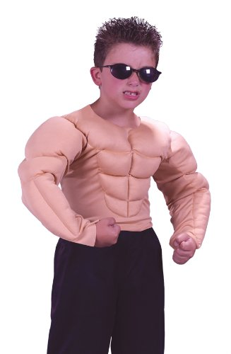Muscle Shirt Child Costume - Small (4-6) (Muscle Suits)