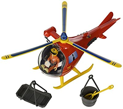 Speelgoed 79403 Feuerwehrmann Sam Hubschrauber mit Figurine, mehrfarbig