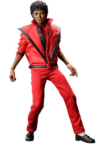 Michael Jackson Sideshow Collectibles Hot Toys 12 Inch Action Figure Thriller