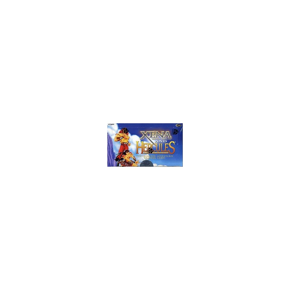 Xena and Hercules The Animated Adventures Trading Cards Box [North American Version]