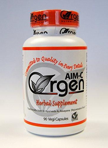 Aim-C - Vitamin C 30 Mg, Amla (Fruit) Extract 435 Mg - 90 Vegi Caps