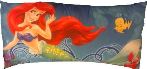 Check Out This Disney The Little Mermaid (Ariel) Supersoft Body Pillow
