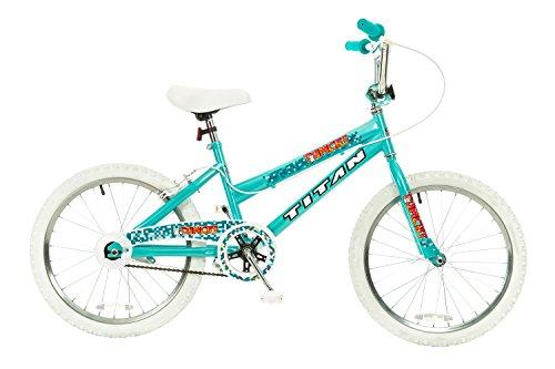 Titan Tomcat 20-Inch Wheel Girls BMX Bike with Pads