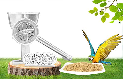 YUCHENGTECH Manual Birds Fishing Bait Granulator Pelleter Animal Food Maker Pet Food Pellet Mell