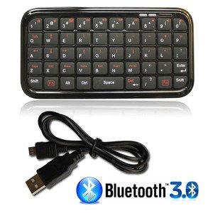 MINI TASTIERA BLUETOOTH 3.0 UNIVERSALE PC TABLET CELLULARE IPHONE SMARTPHONE