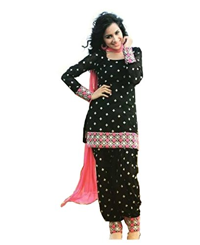 Shreenathji Enterprise in black punjabi suit