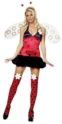 Leg Avenue Womens Daisy Bug Halter Insect Outfit Fancy Dress Sexy Costume
