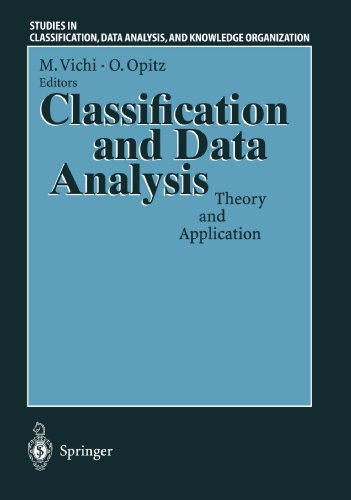 Classification and Data Analysis: Theory and Application Proceedings of the Biannual Meeting of the Classification Group of Societ PDF