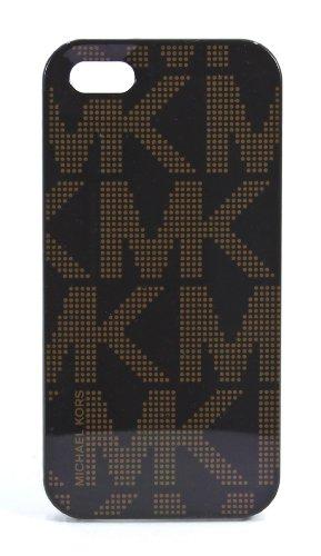 Michael Kors Mk Signature Plastic Electronics Phone Cover Brown