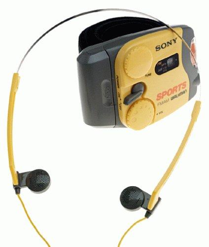 Sony Srf88 Sports Walkman Am/Fm Stereo Arm Band Radio
