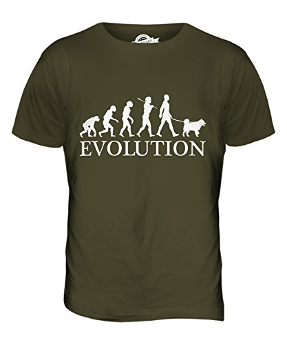 candymix-siberian-husky-evolution-of-man-mens-t-shirt-top-t-shirt-size-large-colour-army