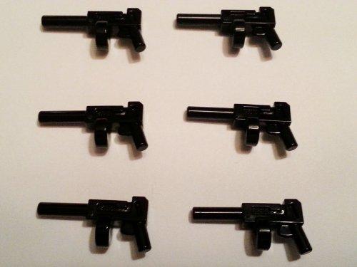 Tommy Gun~ Lego Batman Weapon (Lot of 6) at Gotham City Store
