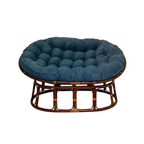 Wicker papasan chair home furniture design for Papasan chair for two