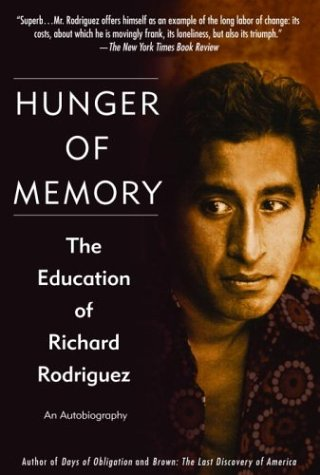 Hunger of Memory: The Education of Richard Rodriguez Free Book Notes, Summaries, Cliff Notes and Analysis