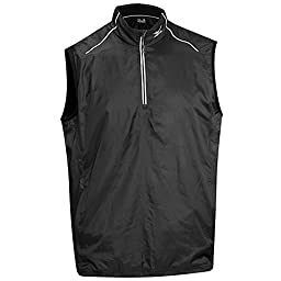 Mizuno Lightweight Wind Vest 2015 Black/Charcoal X-Large