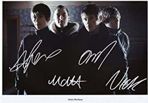 Arctic Monkeys Signed Autographed A4 Photo Print Poster