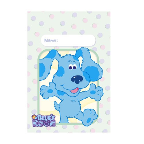 Blue's Clues Room Treat Bags - 8 Count