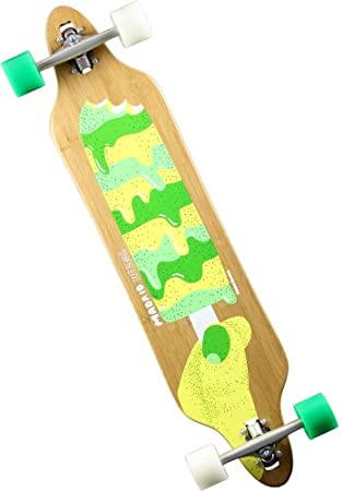 Madrid tombstone popsicle-skateboard-bambou-drop thru 38.375 7141-702538 ""