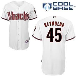 Matt Reynolds Arizona Diamondbacks Home Authentic Cool Base Jersey by Majestic by Majestic