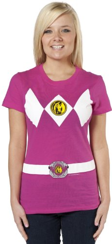 Mighty Fine Girls Ranger Costume Shirt