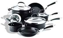 Circulon Elite 10-Piece Nonstick Hard-Anodized Cookware Set