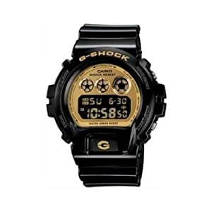 New Casio G-Shock Black Resin Strap Watch DW6900CB-1