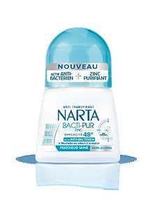 Narta Déodorant Bille Bactipur pour Femme 48H Lot de 2 x 50 ml