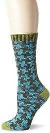 Goodhew Womens Houndstooth Sock