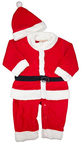 Boy Child Baby Kids Christmas Set Xmas Hat Party Clothes Outfit Set (18-24 Months) - 1