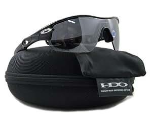 Oakley 09-680 Radar Pitch Sunglasses-Black (Black Iridium Polarized Lens)