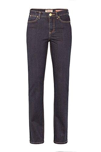 Damen 5 Pocket Jeans der Marke Paddock's, Stil: Slim Fit, Kate (60 399 1380 000), Größe:W44/L28;Farbe:blue/ black rinse(4302)