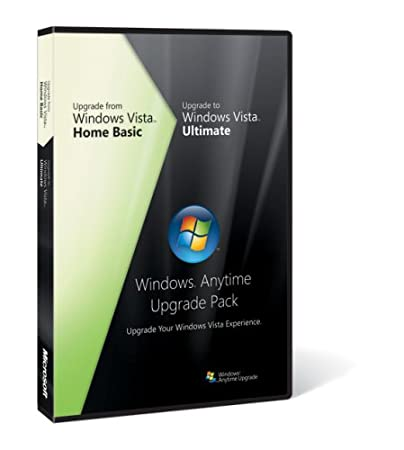 Microsoft Windows Vista Anytime Upgrade Pack [Home Basic to Ultimate] [OLD VERSION]