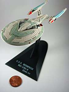 U.S.S. Enterprise NCC-1701-E (Secret Item) Furuta Star Trek Federation Ships & Alien Ships Collection 2 Miniature Display Model