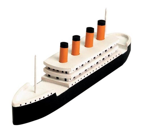 Darice 9178-91 Wooden Titanic Model Kit (Titanic Model compare prices)