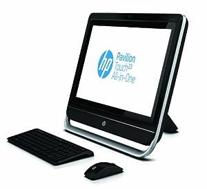 HP Pavilion TS 23-f210ea AiO Desktop PC Bundle (Intel Pentium G2030 3GHz Processor, 4GB RAM, 500GB HDD, Windows 8)