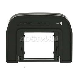 Canon Diopter ED -4.0 w/Rubber Frame f/EOS-A2/A2E, ELAN II/IIE, ELAN 7/7E, EOS-3