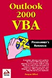 img - for Outlook 2000 VBA Programmers Reference book / textbook / text book