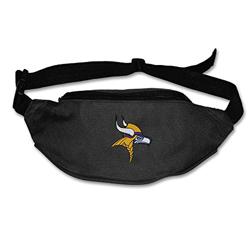 [Kim Lennon Team Seahawk Viking Oxford Multiple Pocket Waist Pack Black] (Hobbes Costumes For Sale)