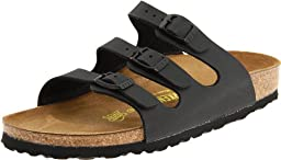Birkenstock Women\'s Florida Sandals,Black,39 N EU / 8-8.5 AA(N) US