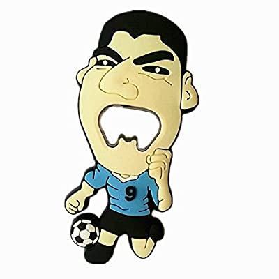 New Arrival Luis Alberto Suarez Bottle Opener in World Cup with Vivid Bite Image,2014 New the Suarez Bottle Opener 2014 Brazil World Cup the Suarez Bottle Opener Souvenir Creative Gift Cartoon Graphic Design