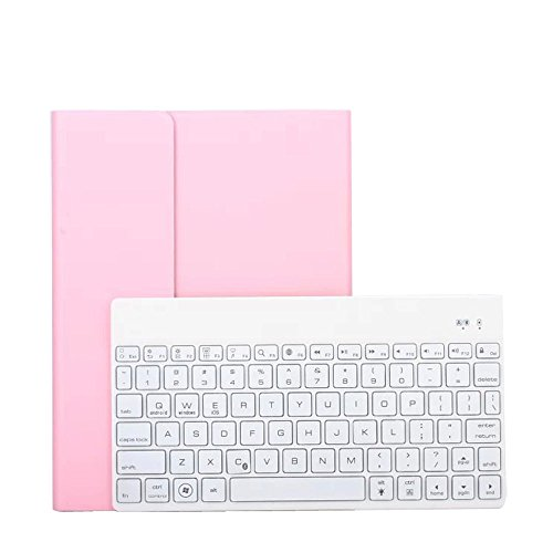 (Tstar)ipad専用 タブレットキーボード ケース ブワイヤレス分離式キーボード レザーケース付け ケース取り外す可能!スタンド機能付き bluetooth 3.0 超薄 7カラーLEDバックライト