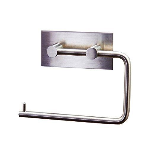 XVL Bathroom Lavatory Stainless Steel Paper Holder,Brushed Steel G308-0