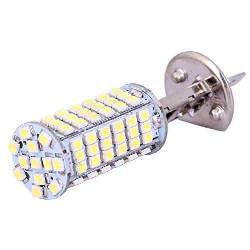 H1 102 Smd 3528 Led High Power Fog Light Bulbs Xenon-White Car Vehicle Fog Light Bulb Headlight Lamp Dc 10-24V