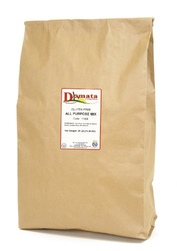 Domata Gluten Free All-Purpose Flour, 25 lb Bag
