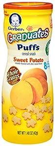 Gerber Graduates Puffs, Sweet Potato, 1.48-Ounce (pack of 6)