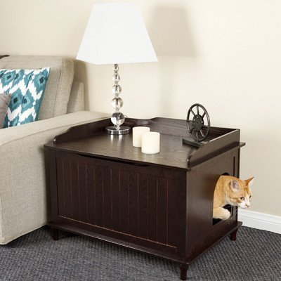 Designer Catbox Litter Box Enclosure Finish: Espresso