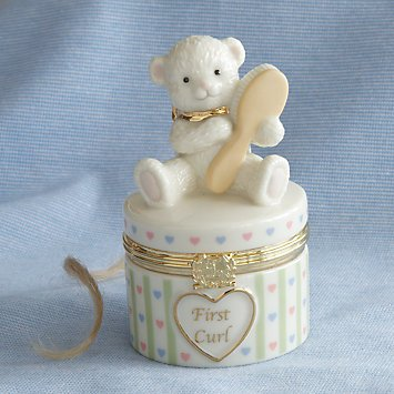 Baby's First Curl Treasure Box by Lenox